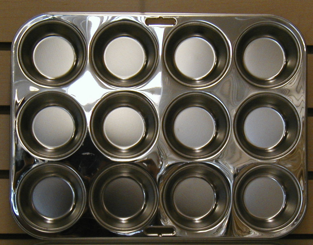 Stainless Steel Cookie Sheet Jelly Roll Cake Pan Muffin