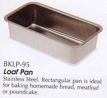 Loaf Pans And 2 Piece And Extra Large Stainless Loaf Pans