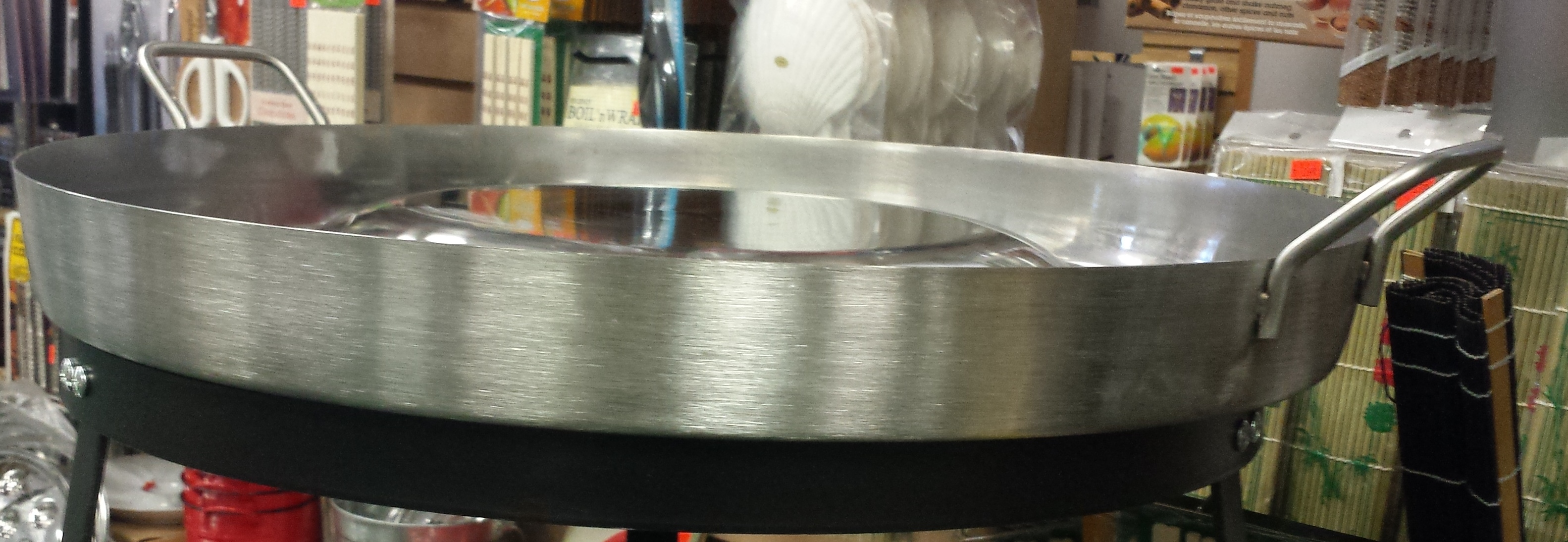 Large Stainless Steel Outdoor Cookware