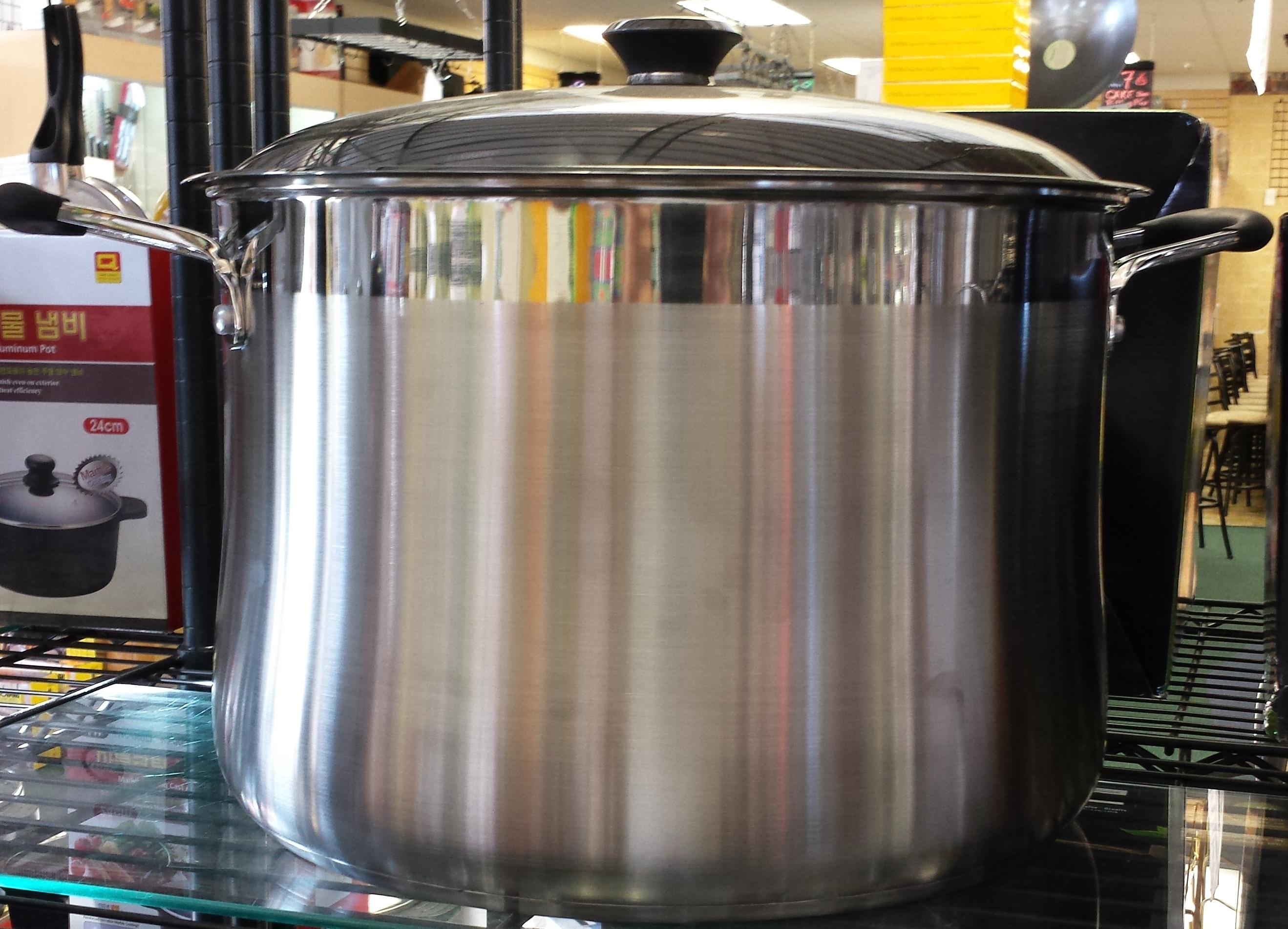 Stock Pots 65 Gallon 100 Quart 75 50 30 25 Large Stainless Steel Brew Temecula