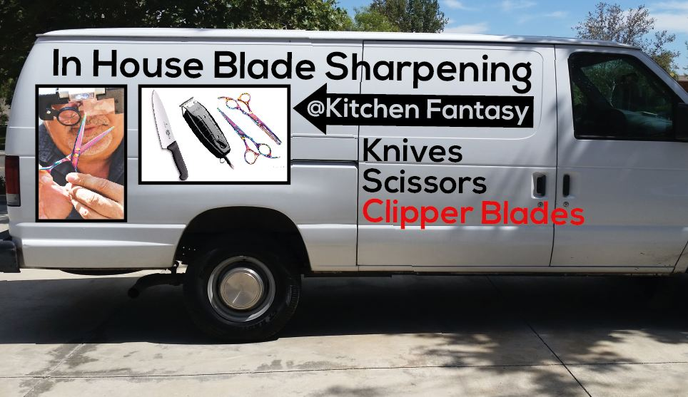 Knife Sharpening, knife rental, knife exchange service